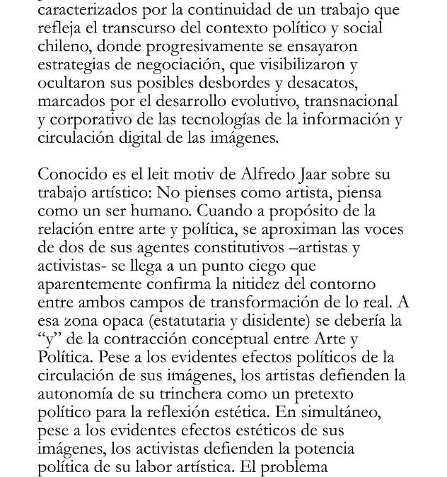 I El estatuto artístico y político · Antonio Urrutia Luxoro